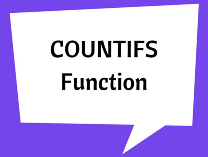 COUNTIFS Function