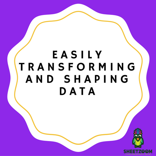 Easily Transforming and Shaping Data in Microsoft Excel 2016 Version