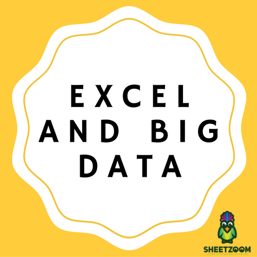 Excel And Big Data