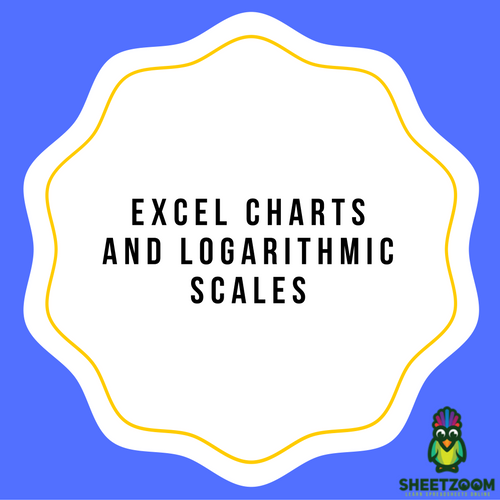 Excel Charts And Logarithmic Scales