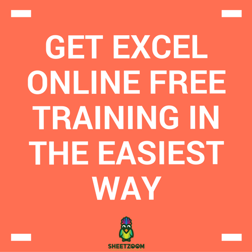 Get Excel Online Free Training In The Easiest Way