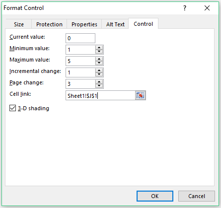 Heat Map in Excel - Format Controls details