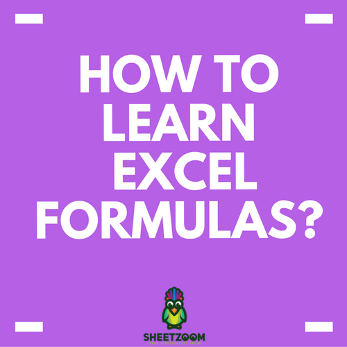 how to learn excel formulas sheetzoom learn excel