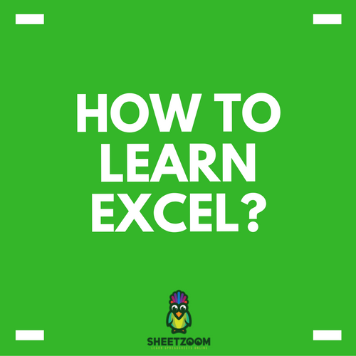 How To Learn Excel?