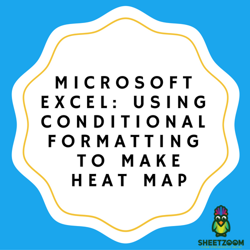Microsoft Excel: Using Conditional Formatting To Make Heat Map