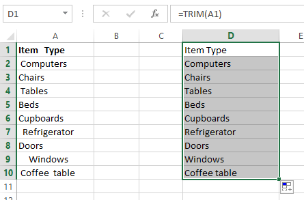 Remove Line Excel Cell