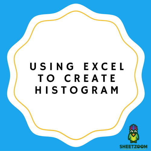 Using Excel to create Histogram