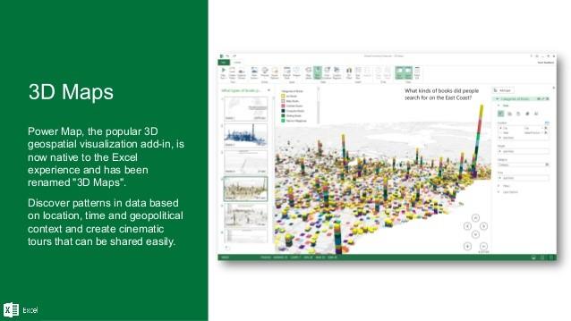3D Maps Excel