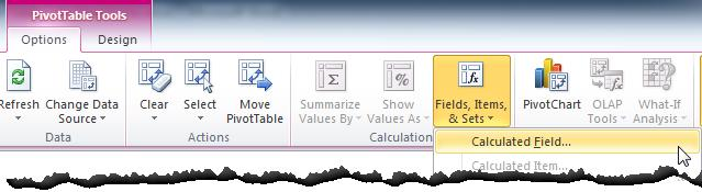 Using Pivot Table Calculated Fields - Sheetzoom Excel Tutorials